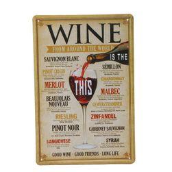 Ламаринена табела - Wine