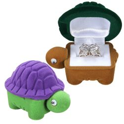 Krabička na šperky v podobě želvy