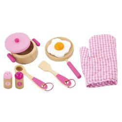 Detské drevené riad -raňajky RW_32744