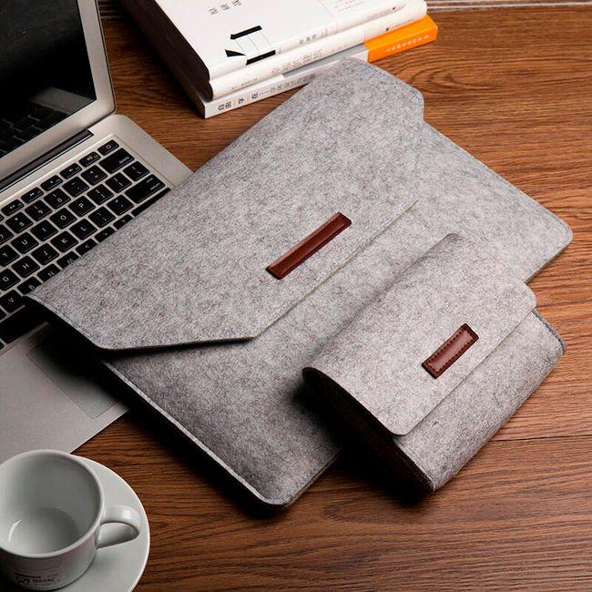 Příjemné plstěné pouzdro na tablety a notebooky 1