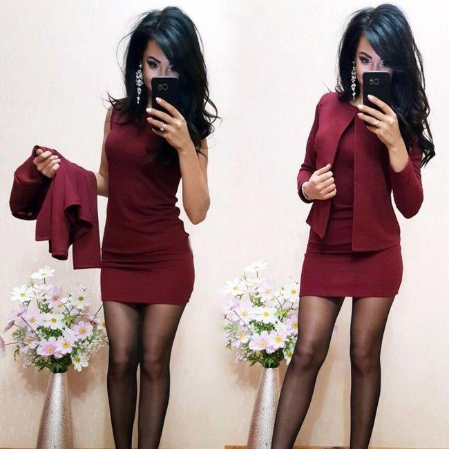 Női ruha dzsekivel Hannah 1