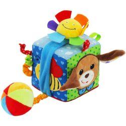 Interaktívna hračka kocka psík RW_34498