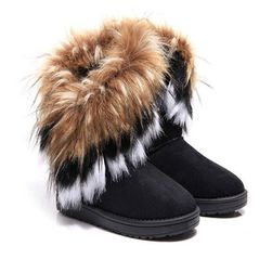 Damskie buty zimowe Rowan
