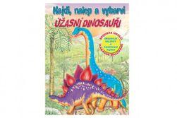 Radna sveska Pronađi, zalepi i oboji neverovatne dinosauruse RM_47370310