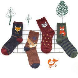 Чорапи за момичета с лисици