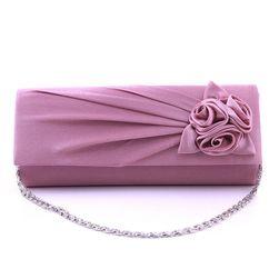 Dámská večerní kabelka s růžičkami