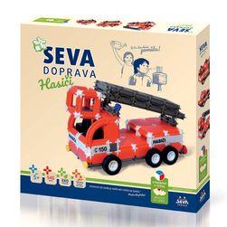 Set construcție SEVA DOPRAVA - Pompieri RZ_176575
