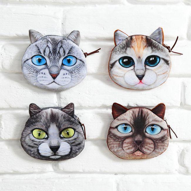 Portofel inedit în formă de pisică 1