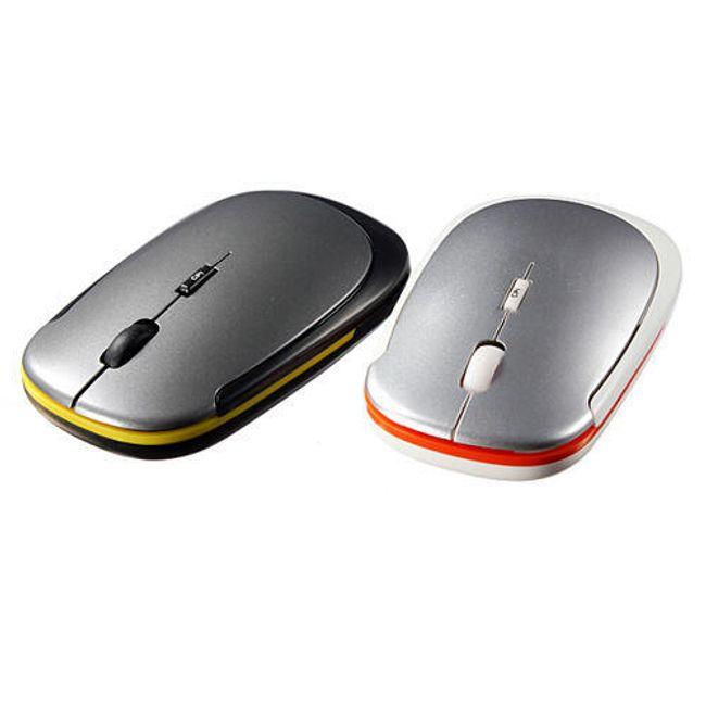 Ultratenká bezdrátová myš - na výběr ze 2 barev 1
