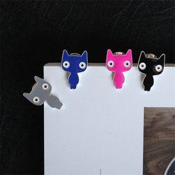 Kočičková brož - 4 barvy