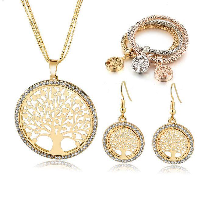 Sada šperků se stromem života 1