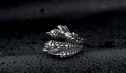 Мъжки пръстен с лапа и нокти