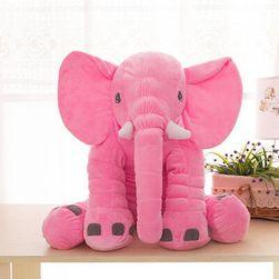 Ładny pluszowy słoń - 6 kolorów