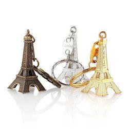 Kulcstartó az Eiffel-torony alakjában - 12 db