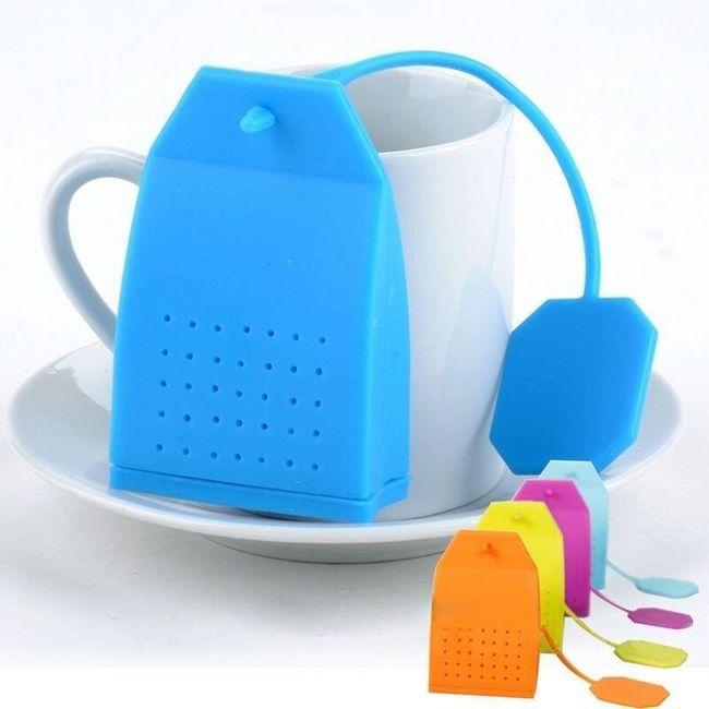 Filtru de ceai sub formă de plic de ceai 1