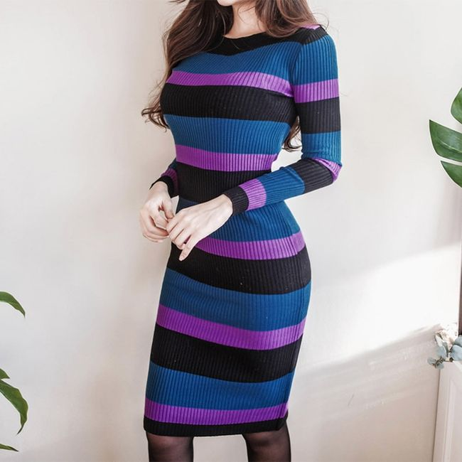 Damska pleciona sukienka Alexis 1
