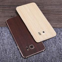 Carcasă retro mată în design de lemn pentru Samsung Galaxy S6 Edge