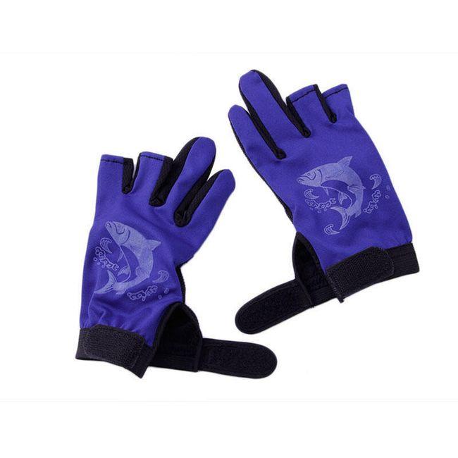 Rybářské rukavice s volnými prsty - 5 barev 1