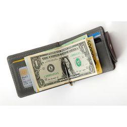 Pénztárca egy bankjegy-klippel
