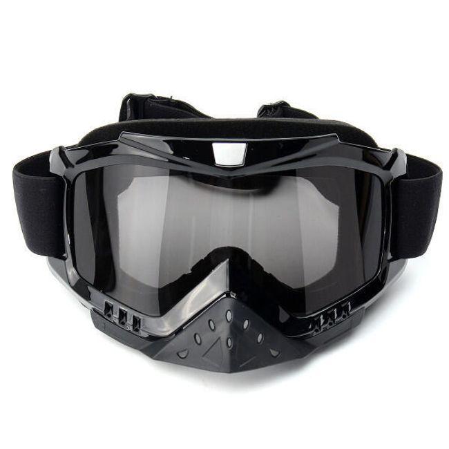 Siyah motokros gözlük 1