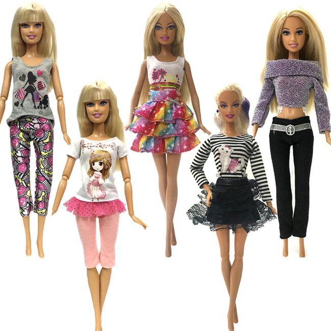 Set odeće za lutke - 5 komada 1