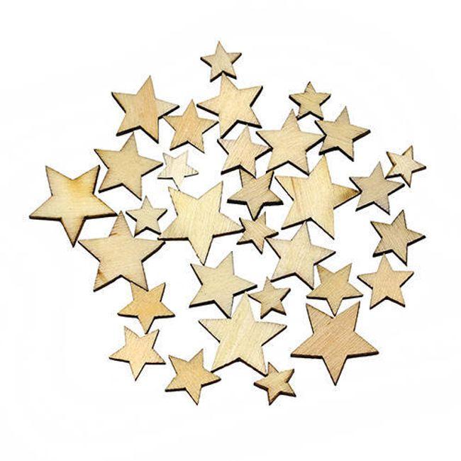 Drvene zvezde za ukrašivanje domaćinstva 1