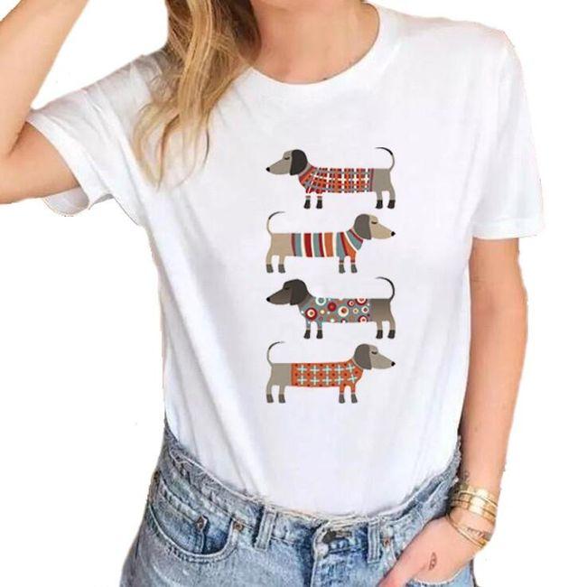 Dámské tričko Zoe 1