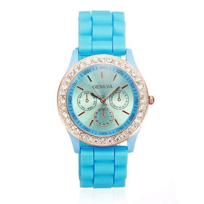 Silikonski ženevski sat u 11 atraktivnih boja 1
