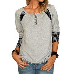 Ženska majica z dolgimi rokavi DS598
