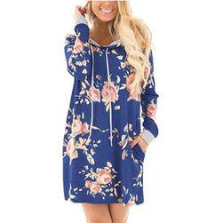 Mikinové šaty Sabrina