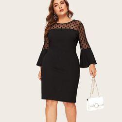 Dámské plus size šaty Delice