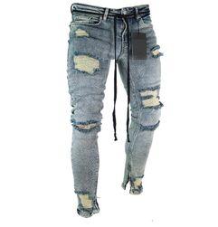 Pánské trhané džíny
