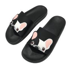 Papuci  cu bulldog pentru femei - 4 variante