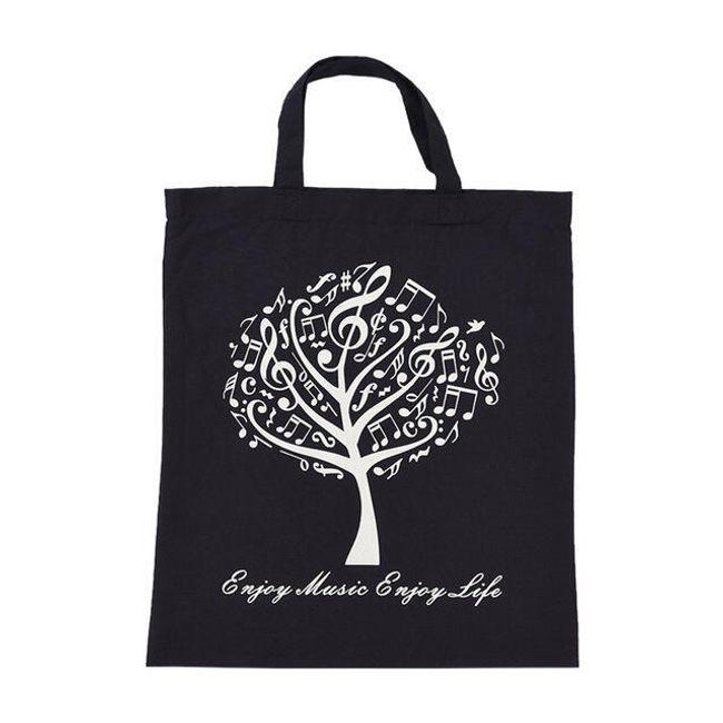 Nákupní taška přes rameno - Hudební strom 1