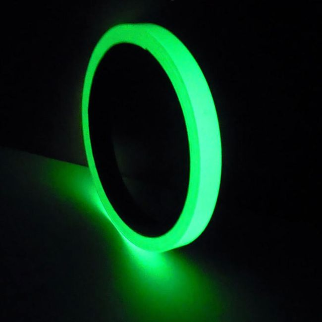 Bandă adezivă luminoasă în întuneric - 10 m 1