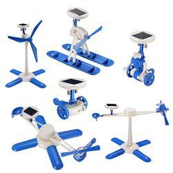 Interaktivna igračka na solarno punjenej 6 u 1