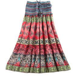 Разноцветная юбка/платье