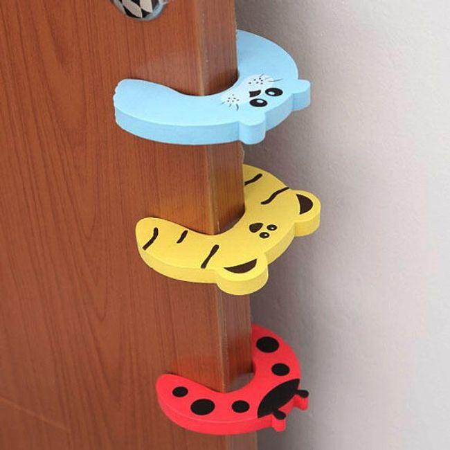 Pěnové zvířecí zarážky na dveře - 10 kusů 1