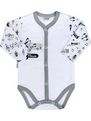 Бебешко тяло в цял ръст с музика-бял / 68 (4-6 м) SR_DS10994305