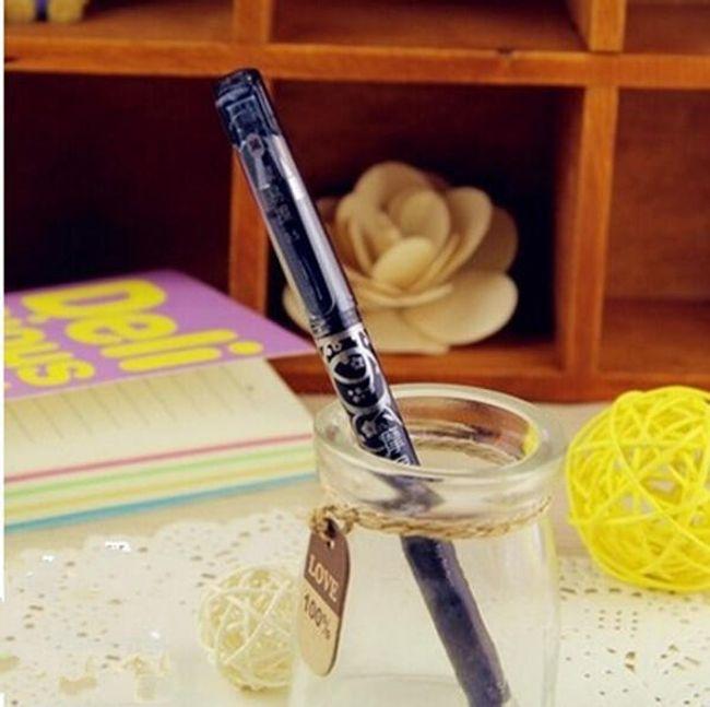 Gumovací gelové pero - 4 barvy 1