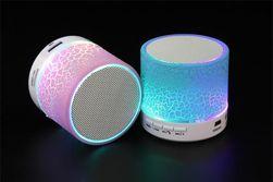 Difuzor bluetooth luminos pentru telefon și PC