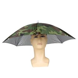 Складной зонт-шляпа для рыбалова