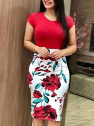 Rochie plus size de damă Hantay