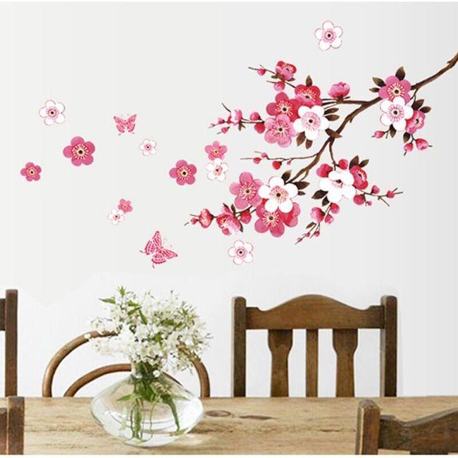 Nalepnica za zid - grančica trešnje 1