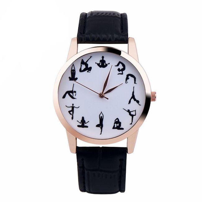 Dámské hodinky pro milovnice jógy 1