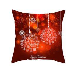 Новогодняя наволочка для подушки RHJ5