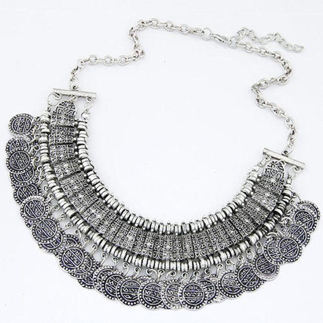 Bohatý náhrdelník v antickém stylu 1