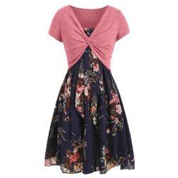 Платье с короткими рукавами Lautty