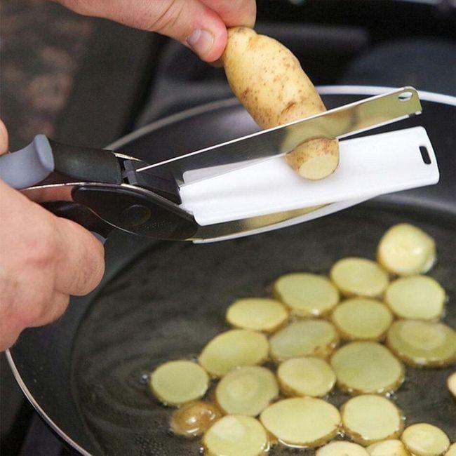 Kuchyňské nůžky na zeleninu i maso 1
