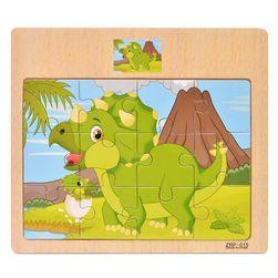 Dřevěné puzzle CT15